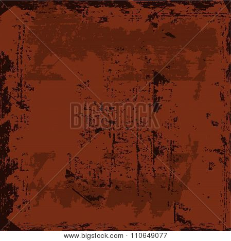 Vector Starainny Rusty Weathered Shabby Background