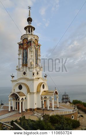 Crimea, Lighthouse Church of St. Nicholas.