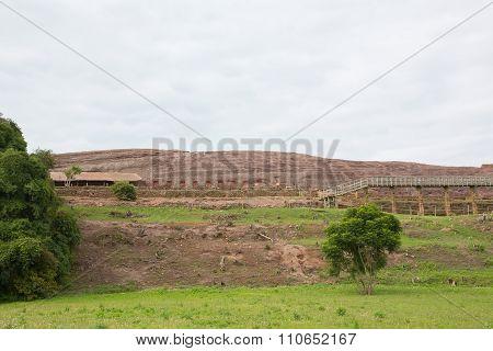 Archaeological site El Fuerte de Samaipata