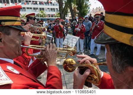 Brass Band In Turkey