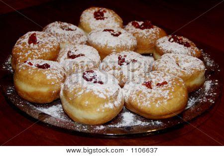 Hanukah Donuts