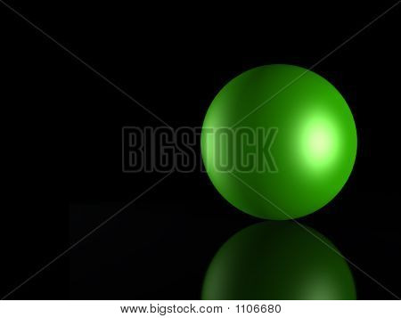 3D Green_ Sphere
