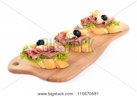 Roast beef morsels