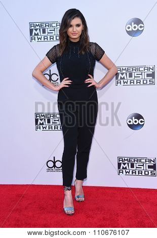 LOS ANGELES - NOV 22:  Rebecca Black arrives to the American Music Awards 2015  on November 22, 2015 in Los Angeles, CA.