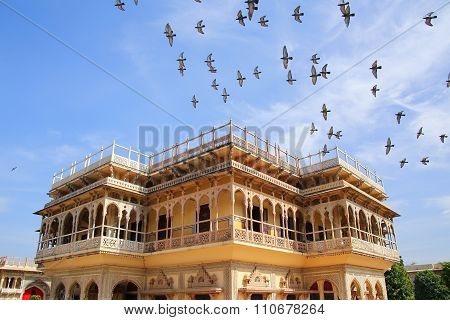 Mubarak Mahal In Jaipur City Palace, Rajasthan, India