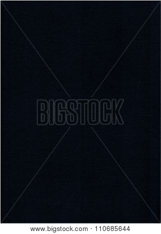 Blue Cloth Book Binding Background