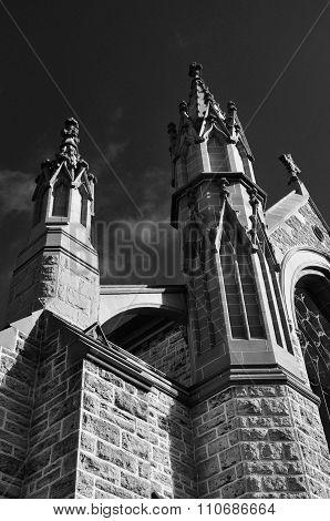 St. Patrick's Basilica: Noir Federation Gothic