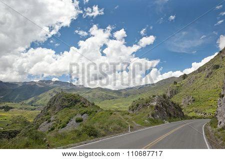Peruvian Roadway Outdoors