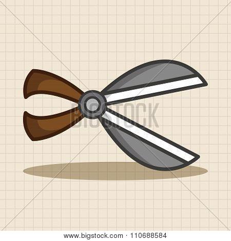 Garden Shears Theme Elements
