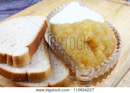 Bread and caviar