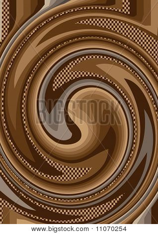 Abstract background of colorful curve.Background. Wallpaper.