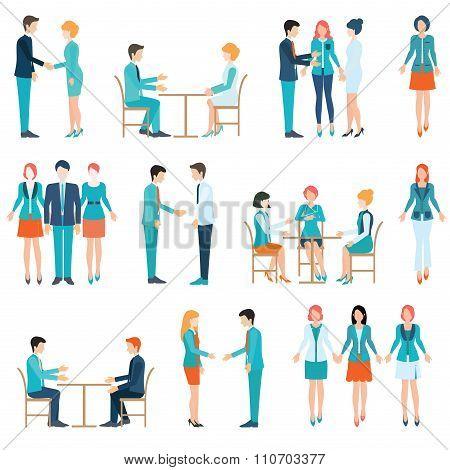 Partnership Business People.