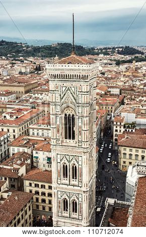 Giotto's Campanile In Florence, Tuscany, Italy