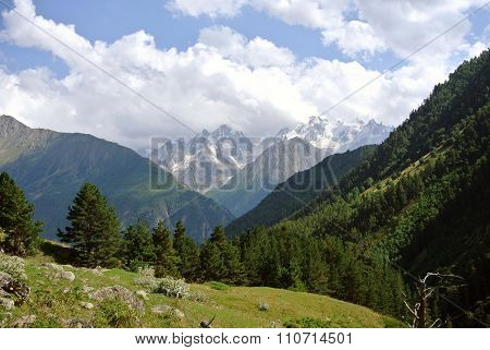 Near Elbrus. Canyon Of River Irik.