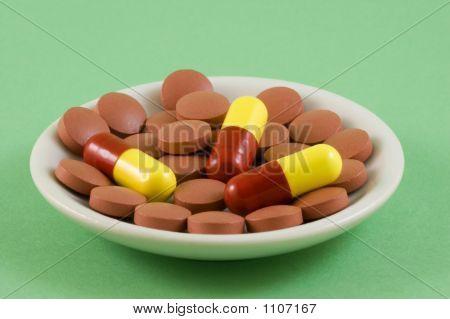 Pills On A Plate 2