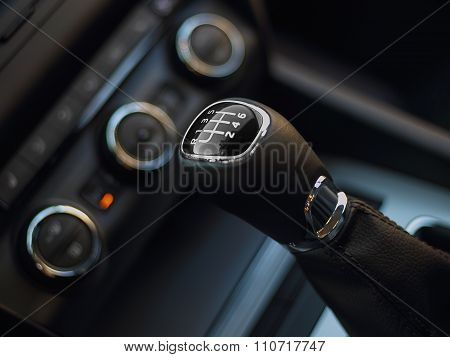 Gearshift In The Car