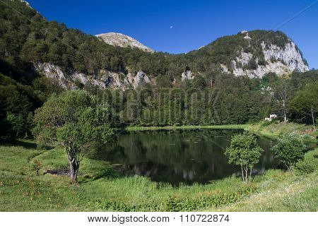 Green Lake Donje Bare In Sutjeska National Park