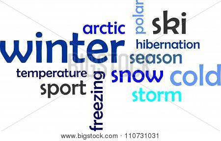 Word Cloud - Winter