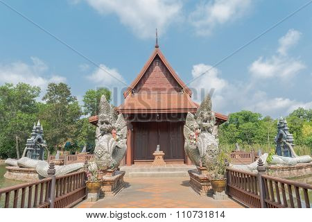 Wooden Temple At Wat Phakhlong 11 Temple