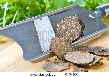 Truffles with slicer