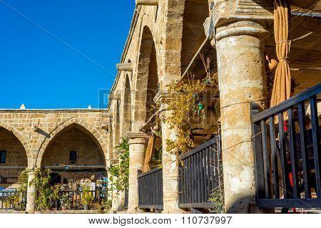 Craft Shops At Buyuk Han (the Great Inn). Nicosia, Cyprus