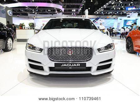 Bangkok - December 1: Jaguar Xe Car On Display At The Motor Expo 2015 On December 1, 2015 In Bangkok