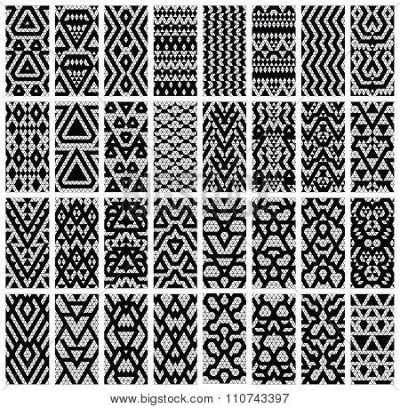 Set of 32 patterns.