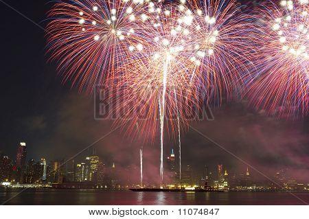 July 4th fireworks