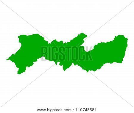 Map Of Pernambuco