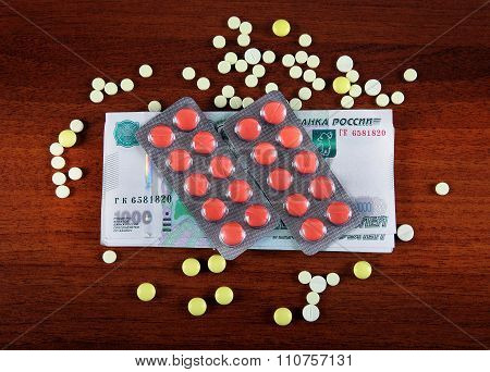 Russian Rubles And The Pills