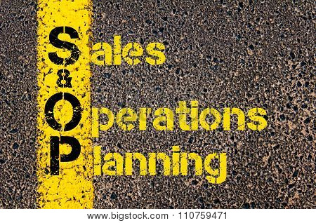 Accounting Business Acronym S&op Sales And Operations Planning