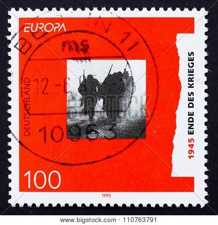 Postage Stamp Germany 1995 End Of World War Ii