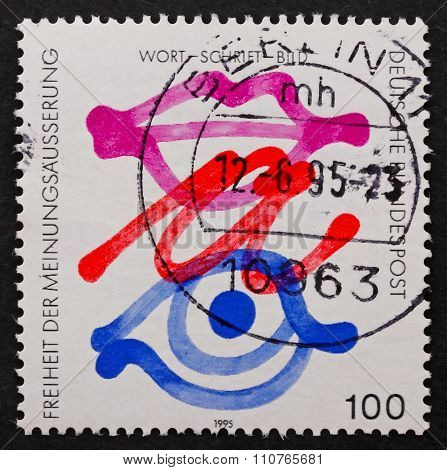 Postage Stamp Germany 1995 Freedom Of Expression