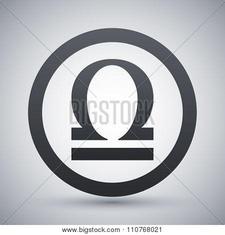 Vector Zodiac Sign Libra
