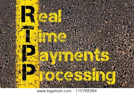 Accounting Business Acronym Rtpp Real Time Payments Processing