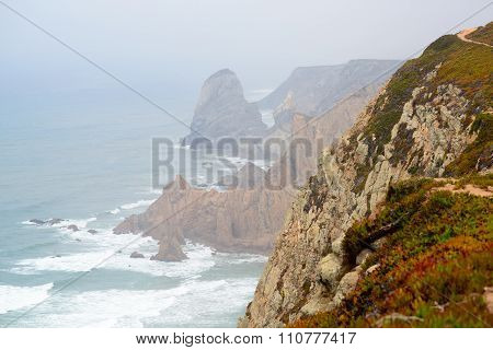 Cape rock is the endpoint of Portugal