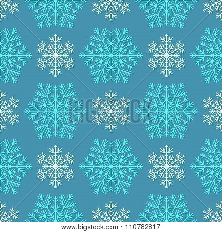 Seamless winter texture.