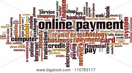 Online Payment Word Cloud