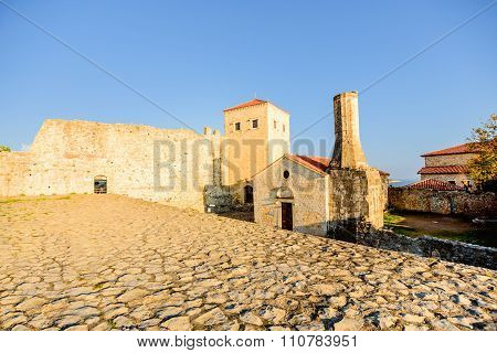 The Church Of St. Maria, Built By Venetions In 1510 Located In Old Town Of Ulcinj, Montenegro