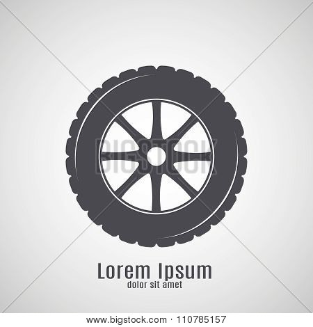 Car Tire Icon