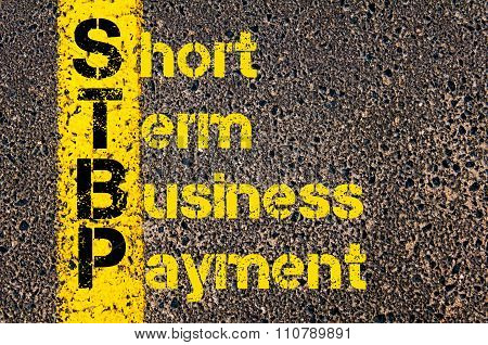 Accounting Business Acronym Stbp Short Term Business Payment