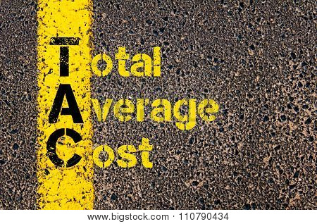 Accounting Business Acronym Tac Total Average Cost