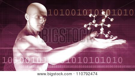 Secure Network with Global Protection of Data Art