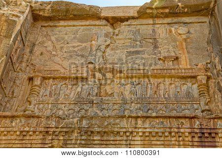Persepolis royal tombs relief