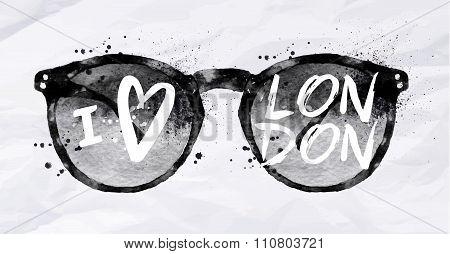 Poster Glasses London