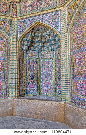 Nasir al-Mulk Mosque decoration vertical