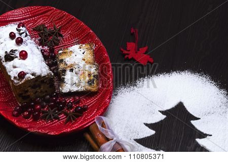 Stollen Food Photo