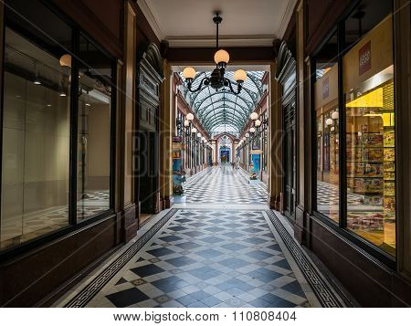 Passage Des Princes Arcade, Paris