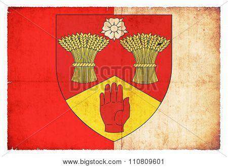 Grunge Flag Of Londonderry (ireland)