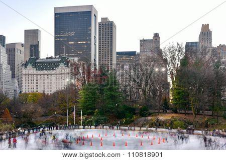 Wollman Skating Rink - Central Park - Nyc